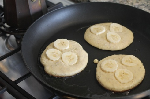 Banana paleo pancakes - 01