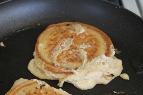 Banana paleo pancakes - 12