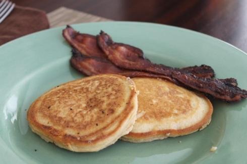 Banana paleo pancakes - 13