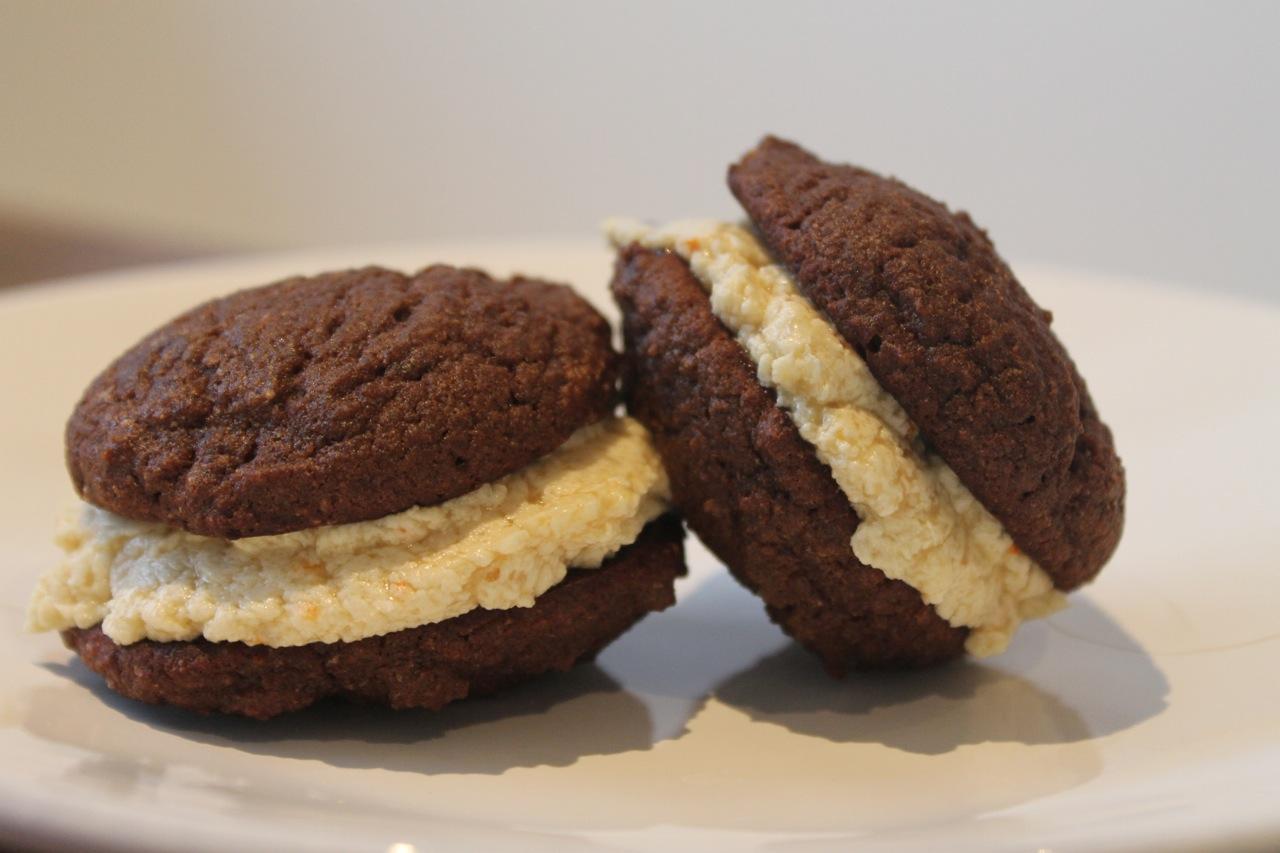 Chocolate Whoopie Pies (Paleo) | tinykitchenstories